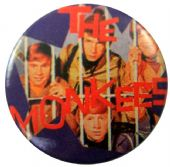 The Monkees - 'Group Bars' Button Badge
